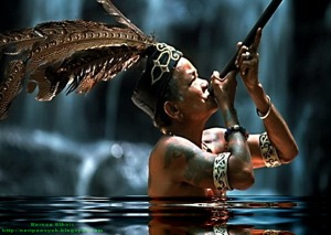 """Sumpit Deadly Weapon of Dayak"""